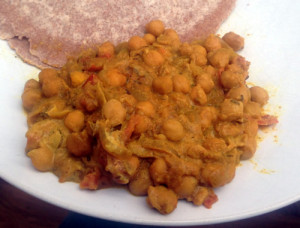 Curried Chickpeas Recipe