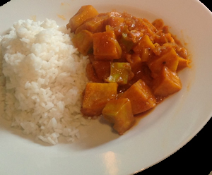 Sweet Potato Curry Reciope